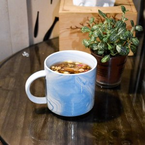 Smarlin marbling ceramic coffee mug, $5 christmas gifts
