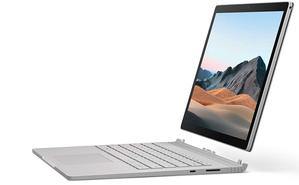 Microsoft Surface Book 3 laptop for photo editing