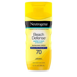 neutrogena beach defense sunscreen