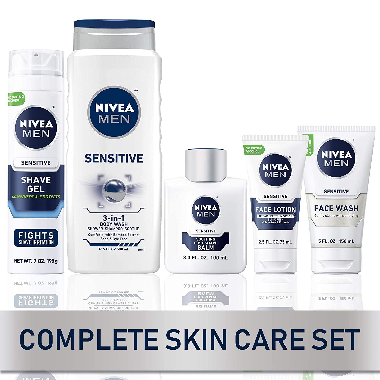 Nivea Men Complete Skincare Collection for Sensitive Skin