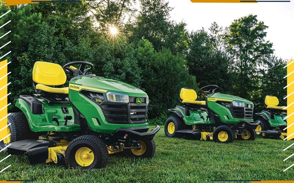 review John Deere Lawn Tractor