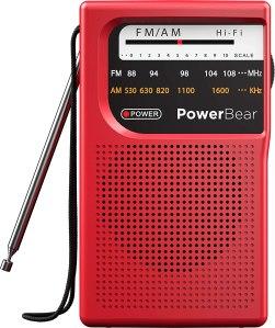 PowerBear portable radio, best emergency supplies