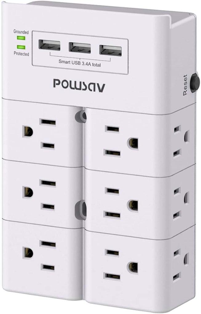 Powsav Multi Plug Outlet