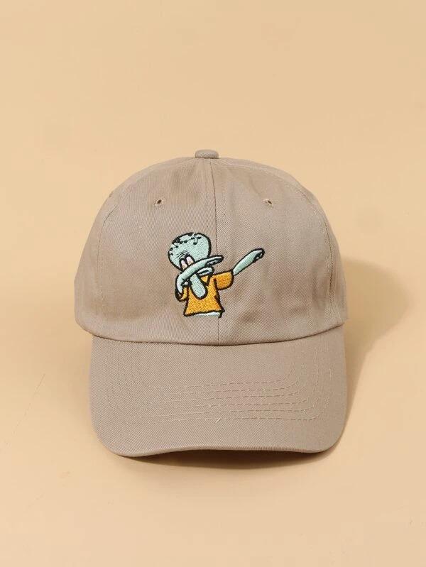 SHEIN-X-SpongeBob-Men-Cartoon-Baseball-Cap