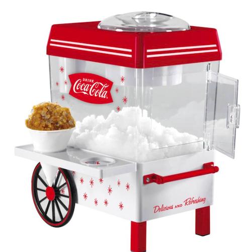 Nostalgia Coca-Cola Countertop Snow Cone Maker