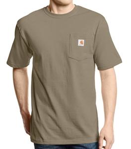 Carhartt Men's K87 Workwear Short Sleeve T-Shirt