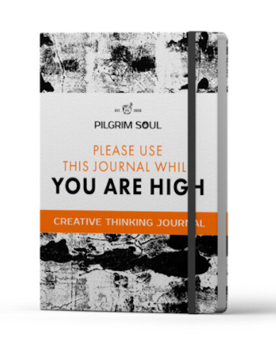 Pilgrim Soul Original Creative Thinking Journal