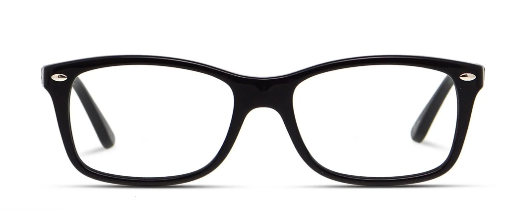 Best Glasses For Round Faces - Ray-Ban RX5228 frame