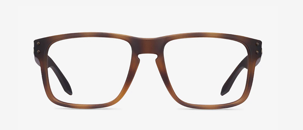 Best Glasses For Round Faces - Oakley Holbrook Rx frames