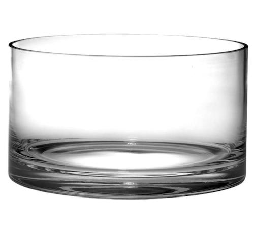 Barski Glass Straight Sided Cylinder Bowl