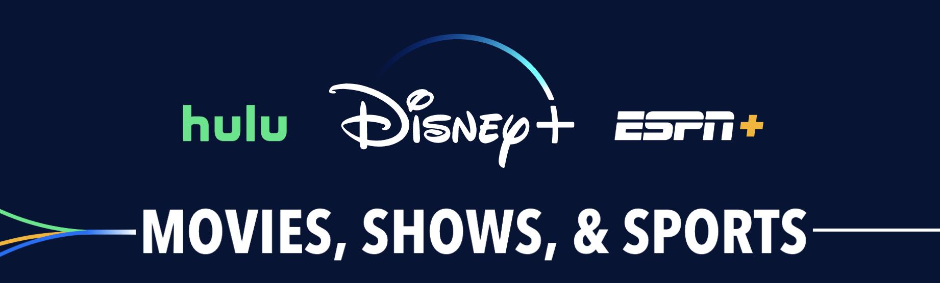 Hulu, Disney+ andESPN+ Subscription, best gifts for men