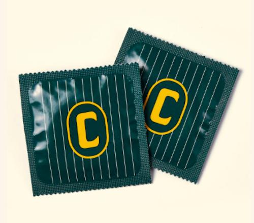 Champ Ribbed Condoms