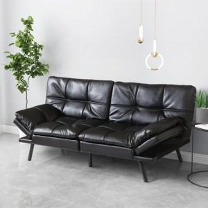 smiaoer futon sofa convertible couch