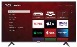 TCL 43-inch 4K UHD Smart LED TV (2021)
