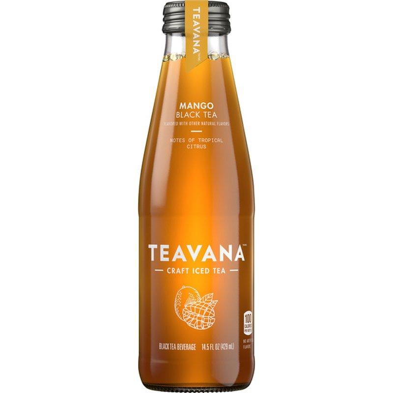 Teavana Mango Iced Black Tea