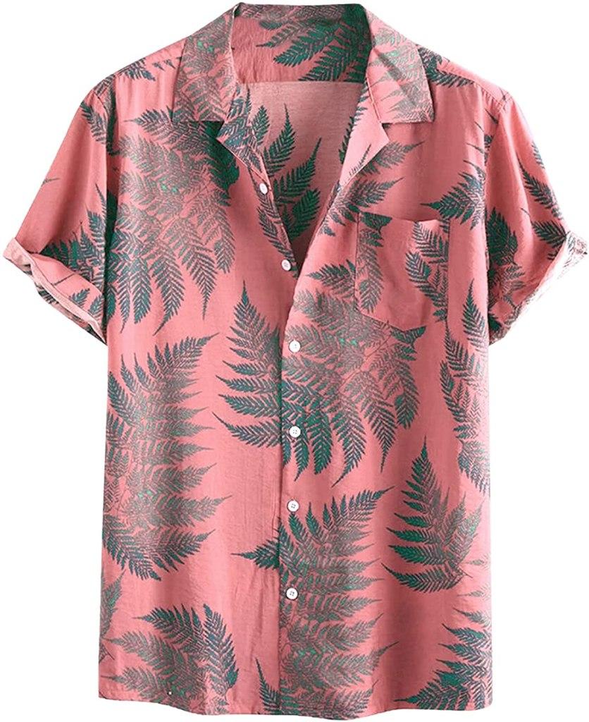 Toufguy Printed Cotton Linen Shirt