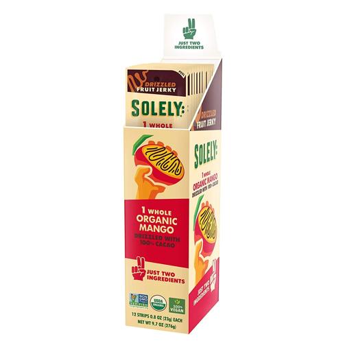 SOLELY Organic Fruit Jerky