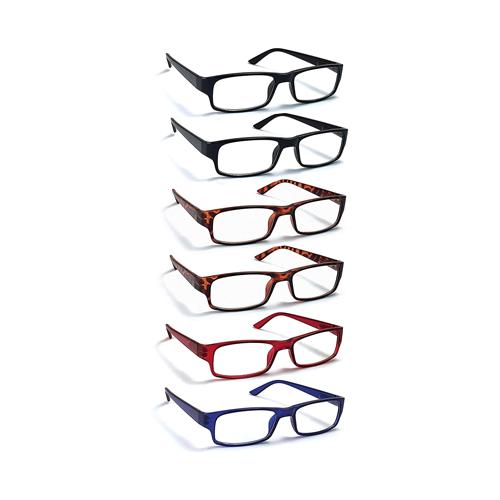 Boost Eyewear 6 Pack Reading Glasses