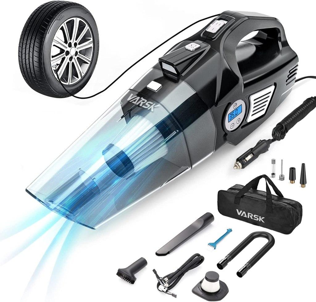 VARSK 4-in-1 Car Vacuum Cleaner