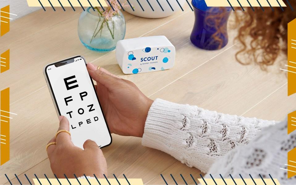 warby parker virtual eye exam
