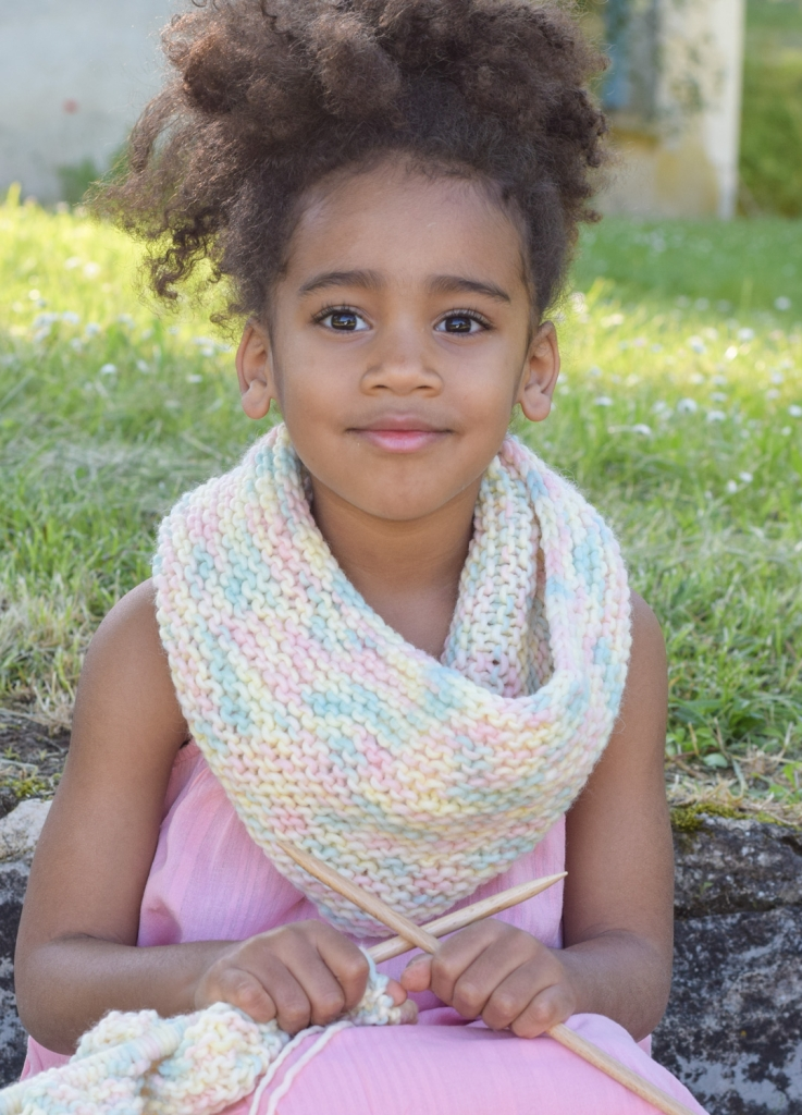 We Are Knitters Row Row Snood for Kids