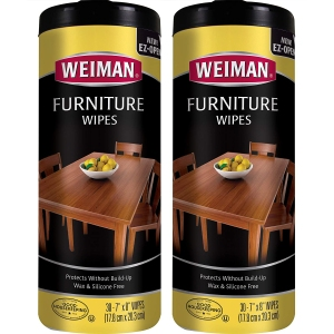 weiman wood cleaner and polish wipes, how to clean wood furniture