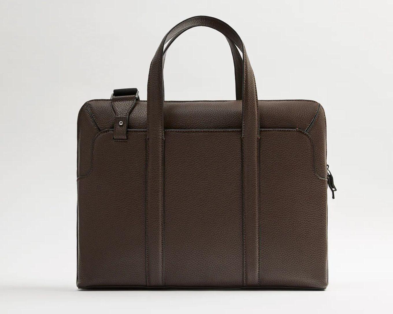 Zara-Grainy-Color-Briefcase, The Best Briefcases
