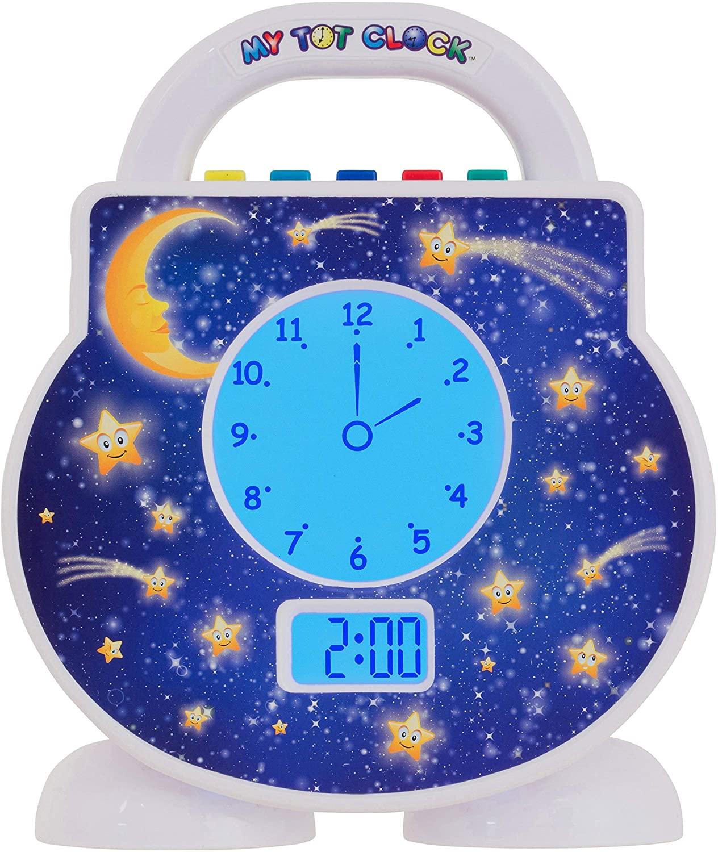 light-up kids' alarm clock