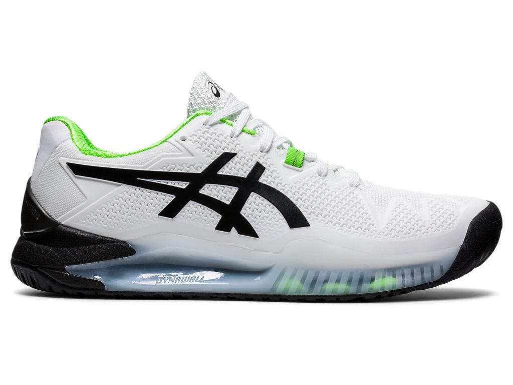best white tennis shoes - asics gel resolution