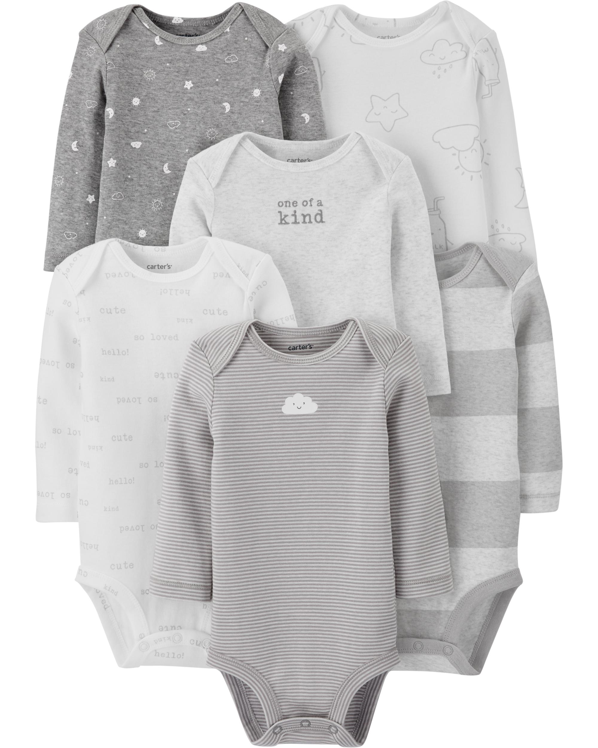 Carter's 6-Pack Original Bodysuits, best baby Christmas gifts