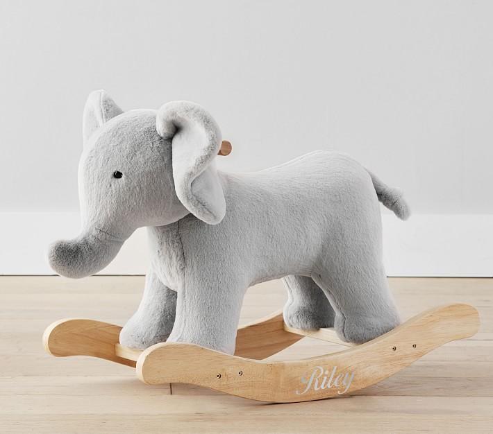 Elephant Critter Nursery Rocker, best baby Christmas gifts
