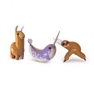 mini creature 3D kits, $5 christmas gifts