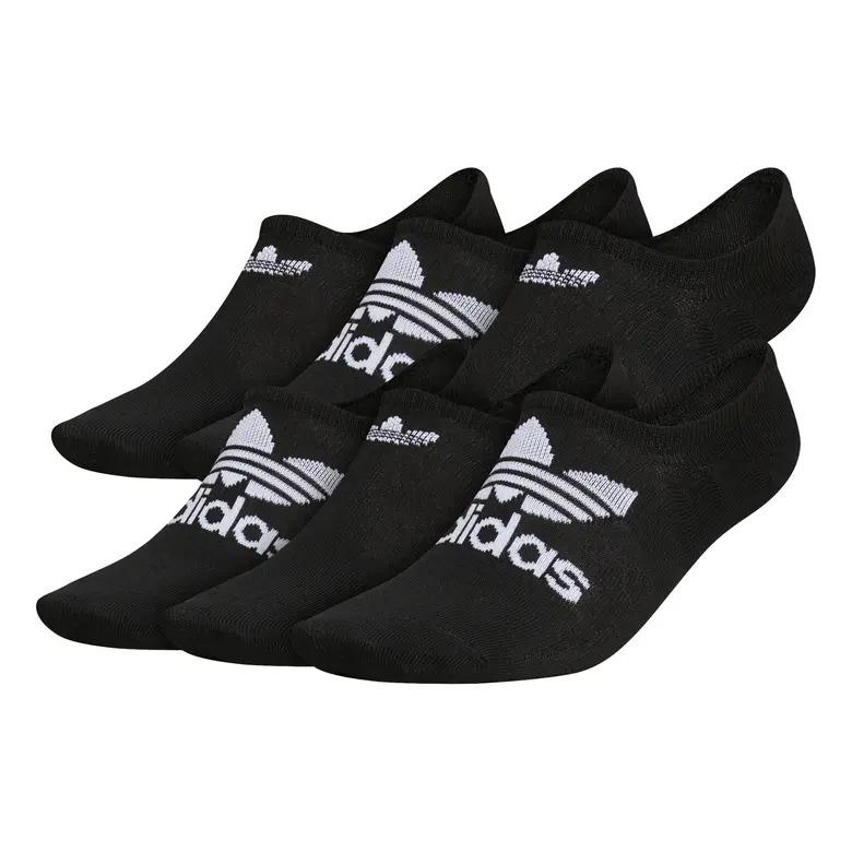 adidas Originals 6-Pack Superlite Super No-Show Performance Socks