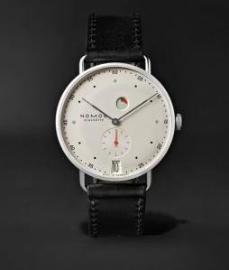 Nomos Glashutte Metro Datum Watch, best dress watch