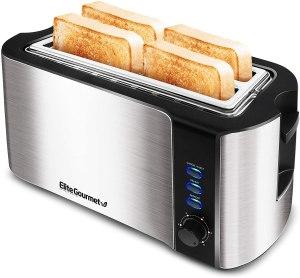 elite gourmet toaster, kitchen gadgets under $50