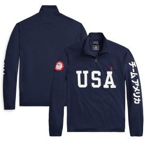 Team USA ralph lauren pullover, Olympics 2021 gear