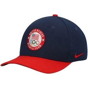 Team USA Nike logo swoosh performance hat, Olympics 2021 gear