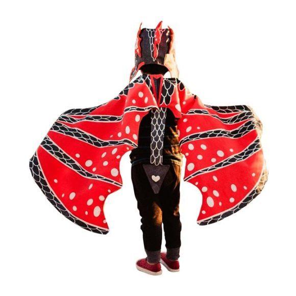 Kid in a dragon costume