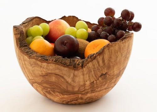 Elevate HQ Olive Wood Salad Bowl