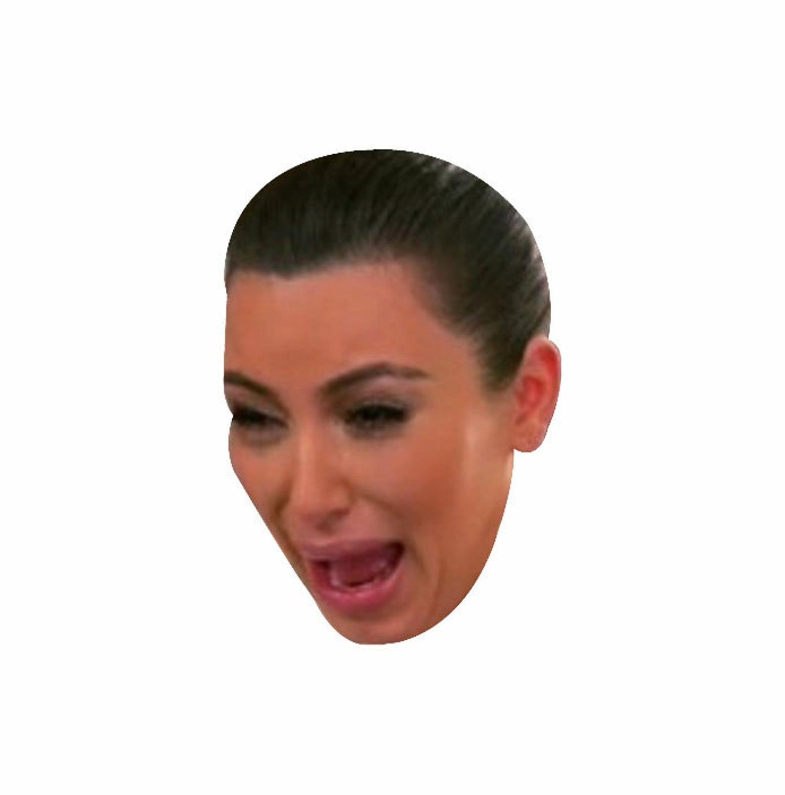 Crying Kim Kardashian Magnet