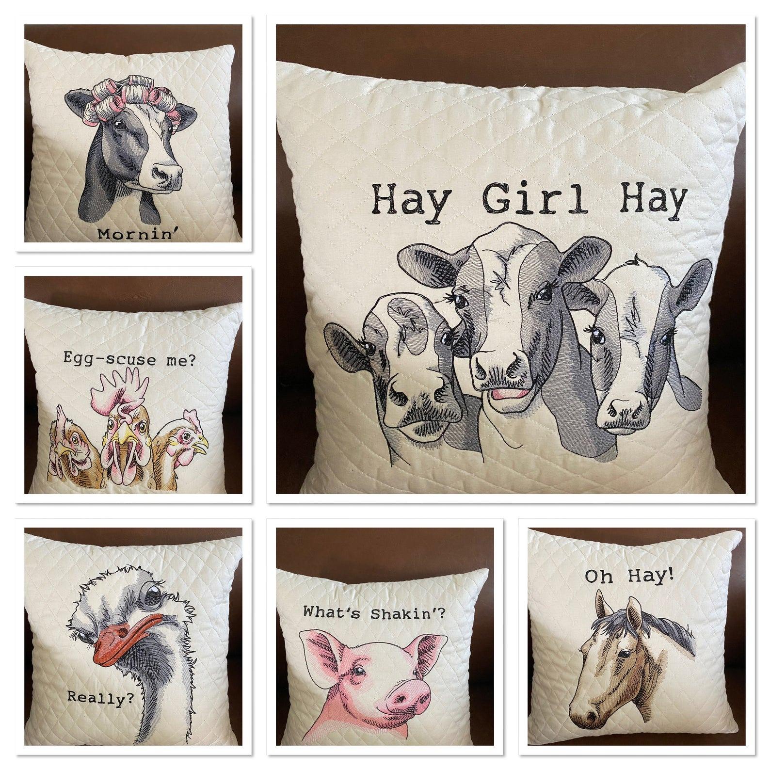 Funny Farm Pillow