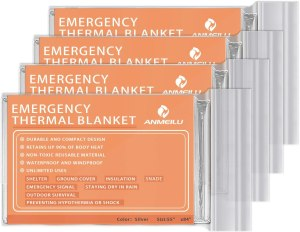 mylar emergency survival blankets, best emergency supplies