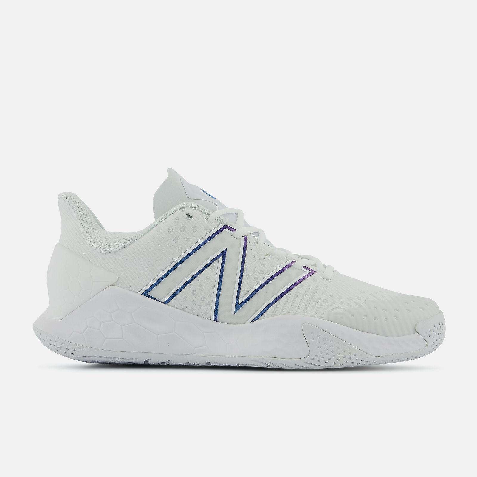 best white tennis shoes - new balance fresh fav