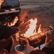 BioLite FirePit+ Wood & Charcoal Burning Fire Pit