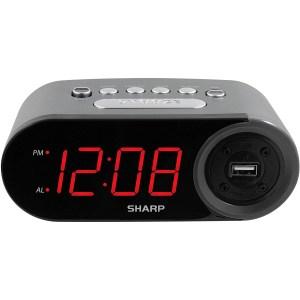 sharp digital alarm clock, loftie alarm clock review