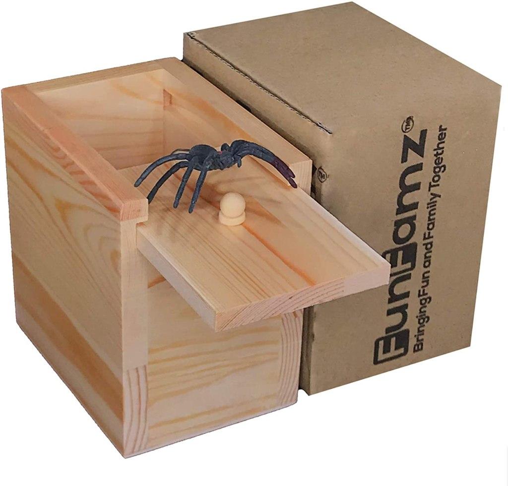 Spider Prank Box
