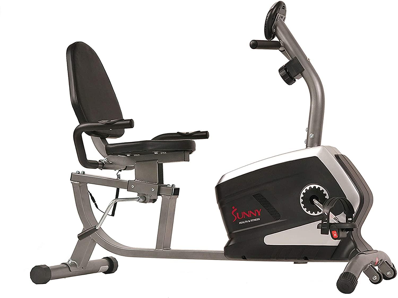 Sunny Health & Fitness Recumbent Exercise Bike