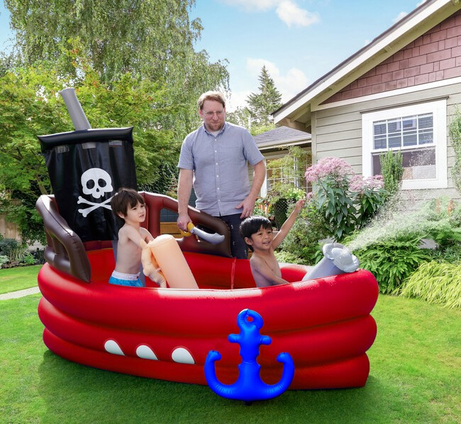 teamson pirate boat inflatable