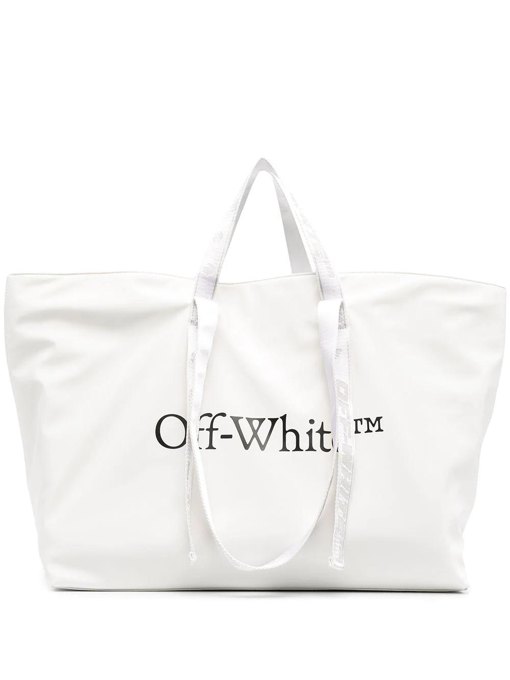 off white tote