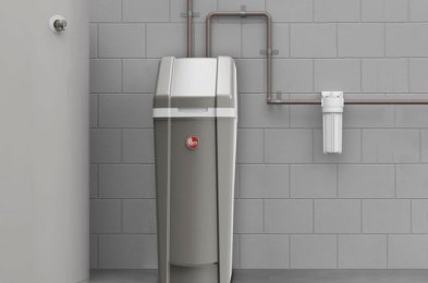 remove damage-causing hardness and improve your water's taste with a water softener